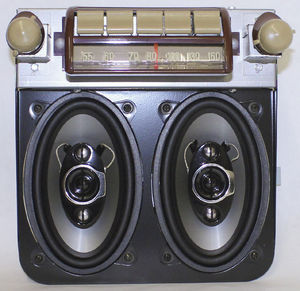 Radio With Speaker Kit - AM/FM Stereo Radio Photo Main