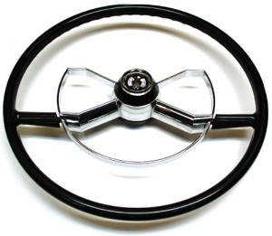Steering Wheel -Butterfly Accessory, Black - 6 Month Warranty From Time Of Purchase Photo Main