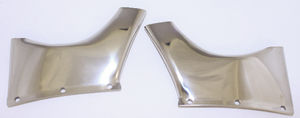 Visor Side brackets for #986674, 1953-54 Sedan  -Recommended for replacement style visor, not originals Photo Main