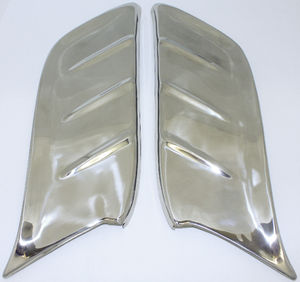 Gravel Shields -Front Fender, Stainless Photo Main
