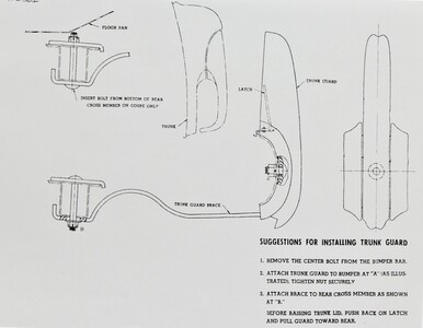 Bumper Guard, Installation Sheet For Rear Fold Down (Original in 42) Photo Main