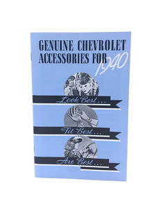 Glove Box Accessory Book - Color Reproduction Photo Main