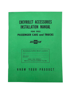 Accessory Installation Manual (Superb) Photo Main