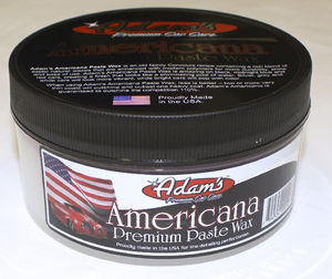 Adam's Americana Premium Carnauba Paste Car Wax 6.9oz Photo Main