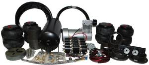 Air Bag Suspension Kit. Complete Basic Kit (Now Includes 3/4 Hp Compressor) Photo Main