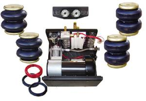 Suspension Complete Air Bag Kit, Includes 3/4hp Compressor. Plug & Play Photo Main