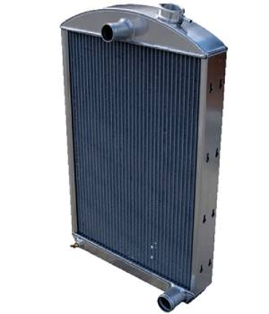 Radiator, Aluminum With Offset Top Fill Neck - Chevy Car w/V8 Photo Main