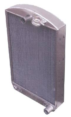 Radiator, Aluminum With Rear Fill Neck  - Chevy Car Photo Main