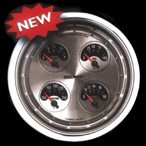 "Instrument Gauges - Auto Meter American Muscle Series, 5"" Auxiliary Gauge Set Photo Main"