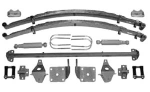 Rear Axle Mounting Kit, Bolt On 47-54 Chevrolet Pickup Photo Main