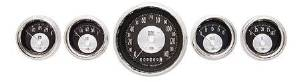 Instrument Gauges - (5 Gauge Set) - All American Tradition Series 12v Photo Main