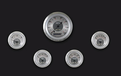 Instrument Gauges - (5 Gauge Set) - All American Series 12v Photo Main