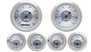 Instrument Gauges - (6 Gauge Set) - All American Series 12v Photo Main