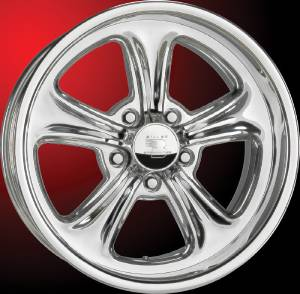 Wheels, Billet Aluminum  - Legends Series. Apex, Polished Photo Main