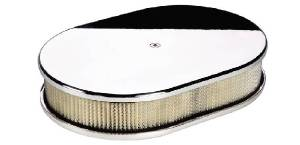 Air Cleaner, Billet -Small Oval Smooth Photo Main