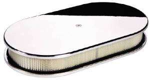 Air Cleaner, Billet -Large Oval Smooth Photo Main