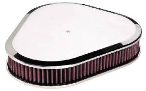 Air Cleaner, Billet Triangle -Plain (Smooth) Photo Main