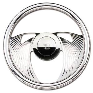 "Steering Wheel, Billet, 14"" Solid Eagle Photo Main"