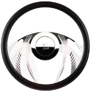 Steering Wheel, Billet, Half Wrap -14 Inch, Psycho Photo Main