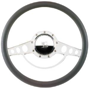 Steering Wheel, Billet, Half Wrap -14 Inch, Classic Photo Main