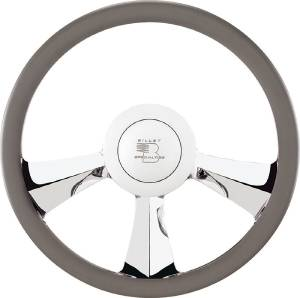 Steering Wheel. Billet, Half Wrap -14 Inch, Rival Photo Main