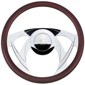 Steering Wheel, Billet, Half Wrap -14 Inch, Sniper Photo Main