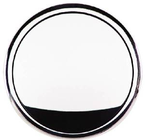 Horn Button, Billet Steering Wheel. Standard Size Plain Photo Main