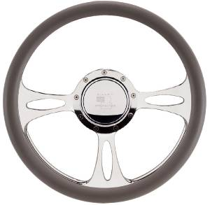 Steering Wheel, Billet, Half Wrap -15.5 Inch, Fast Lane Photo Main