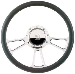 Steering Wheel, Billet, Half Wrap -15.5 Inch, Vintec Photo Main