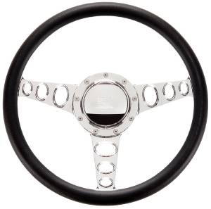Steering Wheel, Billet, Half Wrap -15.5 Inch, Outlaw Photo Main