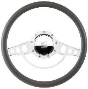 Steering Wheel, Billet, Half Wrap -15.5 Inch, Classic Photo Main
