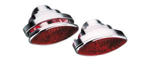 "Tail-Light, Billet Aluminum Small Elliptical (4"" X 1-3/4"", 4"" Deep) Photo Main"