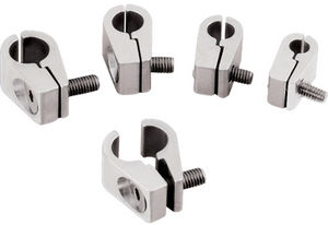"Line Clamps -5/16"" Single -Billet -4 pack Photo Main"