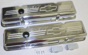 Valve Covers Billet  Chevy SB, Chevy Power - Short Photo Main