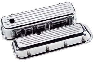 Valve Covers, Chevy Big Block, Smooth Billet - Short Photo Main