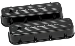 "Valve Covers, Chevy Big Block - Polished Billet ""Chevrolet"" Script - Tall Photo Main"
