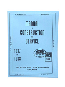 Manual, Fisher Body Construction & Adjustment (Superb Reproduction) Photo Main