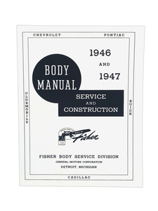 Manual, Fisher Body Construction & Adjustment Photo Main
