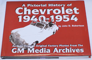 Book - Pictorial History Of Chevrolet 1940-1954 Photo Main