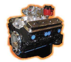 "Crate Engine, GM - 355ci (Chevy Small Block) Cast Iron Heads - 310hp With Carb & Ignition ""Budget Stomper"" Photo Main"