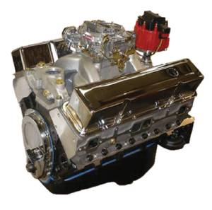 "Crate Engine, GM - 355ci (Chevy Small Block) With Aluminum Heads - 375hp With Carb & Ignition ""Budget Stomper"" Photo Main"