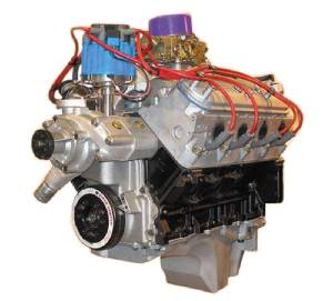 Crate Engine, GM - LS 6.0L, Aluminum Heads With Carb & Ignition - 440hp Photo Main
