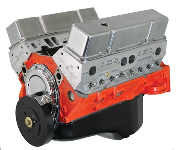 Crate Engine, GM - 383ci (New Chevy Small Block) With Aluminum Heads - 445hp Forged Power Adder Photo Main
