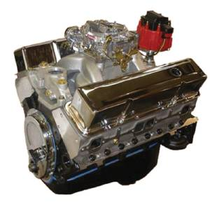 "Crate Engine, GM - 383ci (Chevy Small Block) With Aluminum Heads - 420hp With Carb & Ignition ""Budget Stomper"" Photo Main"