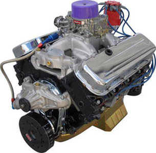 Crate Engine, GM Big Block - 496ci With Iron Heads - 480hp With Carb & Ignition Photo Main