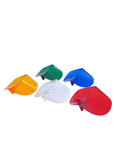 Hood Air Deflector -Mounts To Hood Center Strip. Keeps Windshield Clear. Choose Amber, Blue, Clear, Green Or Red Photo Main