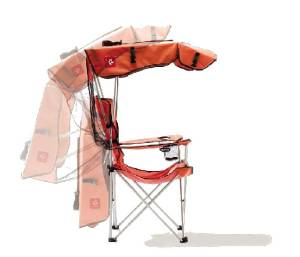 Chair - Lightweight With Adjustable Canopy.  Photo Main
