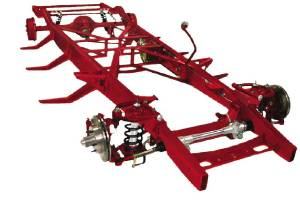 Chassis - Complete, 47-53 Chevy Truck. Custom Ifs With Leaf Spring Rear (Chrome/ Stainless Package) Photo Main