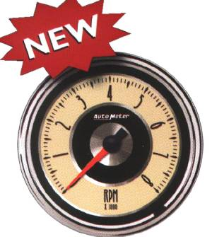 "Instrument Gauges - Auto Meter Cruiser Series, 3-3/8"" 8,000 Rpm Tach Photo Main"