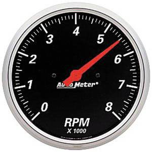 "Instrument Gauges - Auto Meter Designer Black Series, 5"" Tach Photo Main"